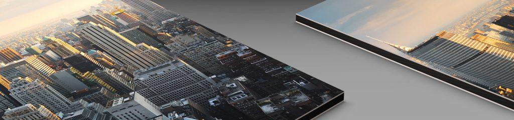 cities skyline photo print